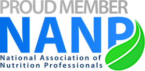 Proud member of National Association of Nutrition Professionals