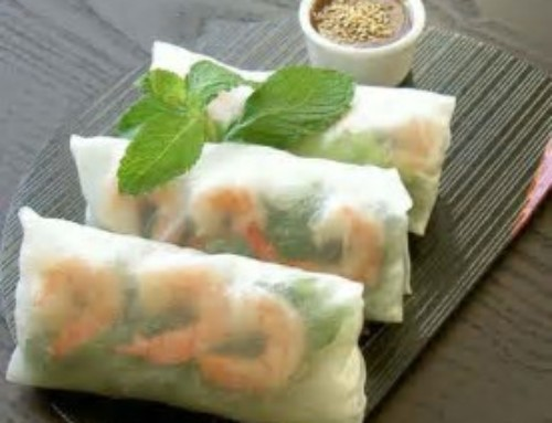 Simply scrumptious homemade spring rolls!